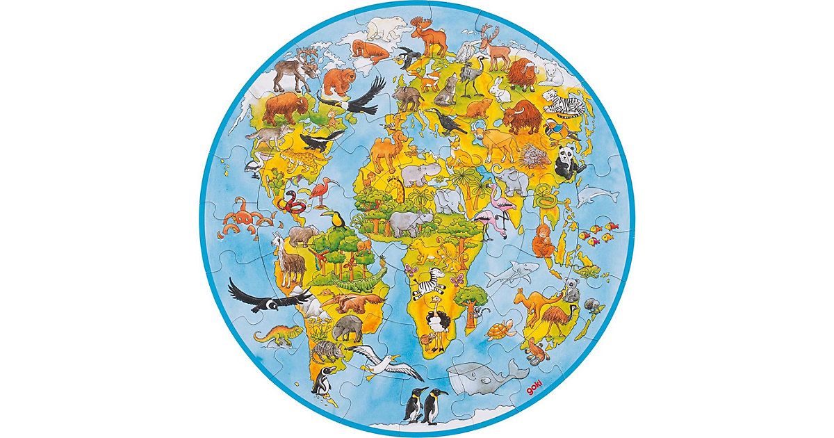 XXL Puzzle 49 Teile Welt