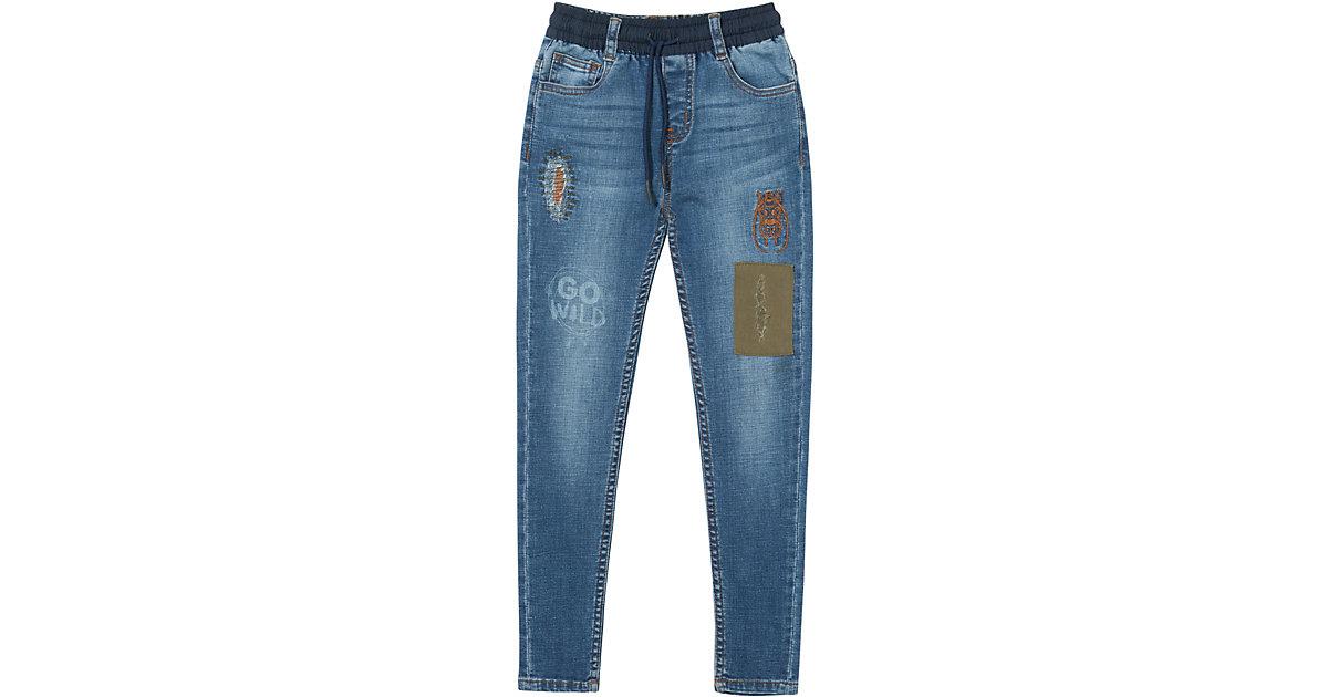 Desigual · Jeans mit Aufnäher Gr. 146/152 Jungen Kinder