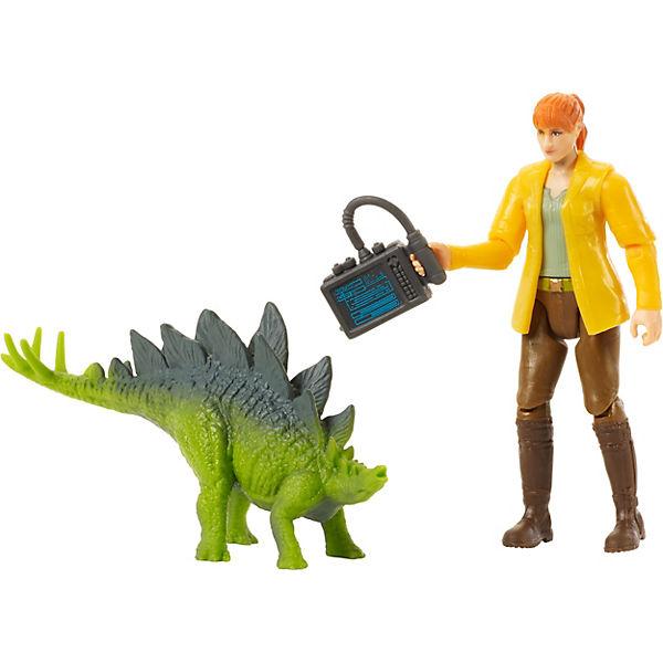 Jurassic World World Jurassic Basis Figur Claire & Baby Stegosaurus, Jurassic World 48cf17
