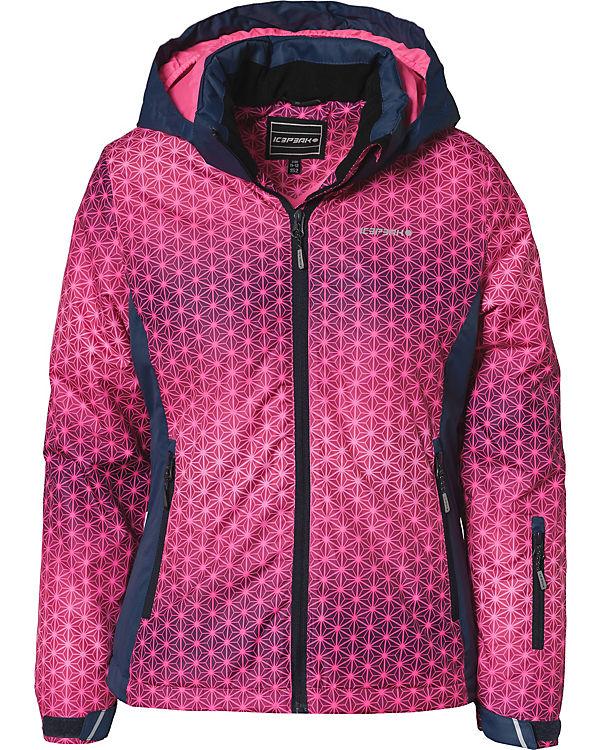 offizieller Shop stylistisches Aussehen beste Sammlung Skijacke HERMIA mit abnehmbarer Kapuze für Mädchen, ICEPEAK