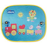 Подарок_Защитные шторки для автомобиля Safe Паровозик, CHICCO
