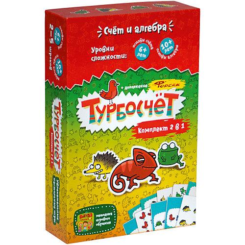 """Развивающая игра Банда Умников """"Турбокомплект 2 в 1"""""""