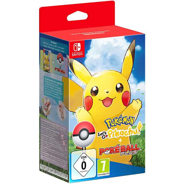Nintendo Switch Pokémon Let S Go Pikachu Pokéball Plus