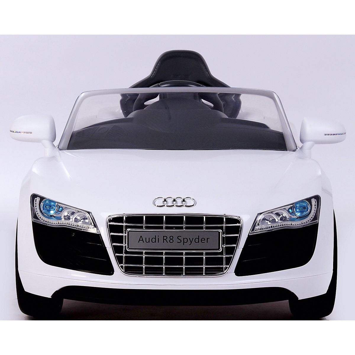 audi r8 cabrio mit rc wei rollplay mytoys. Black Bedroom Furniture Sets. Home Design Ideas