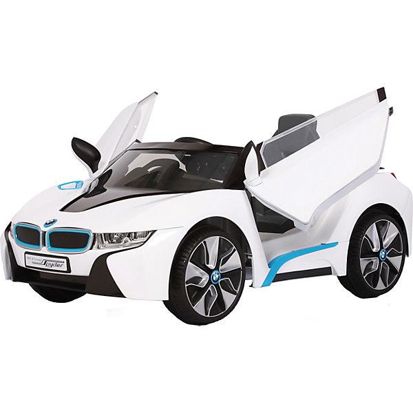 BMW i8 Concept Spyder mit RC, weiß, Rollplay