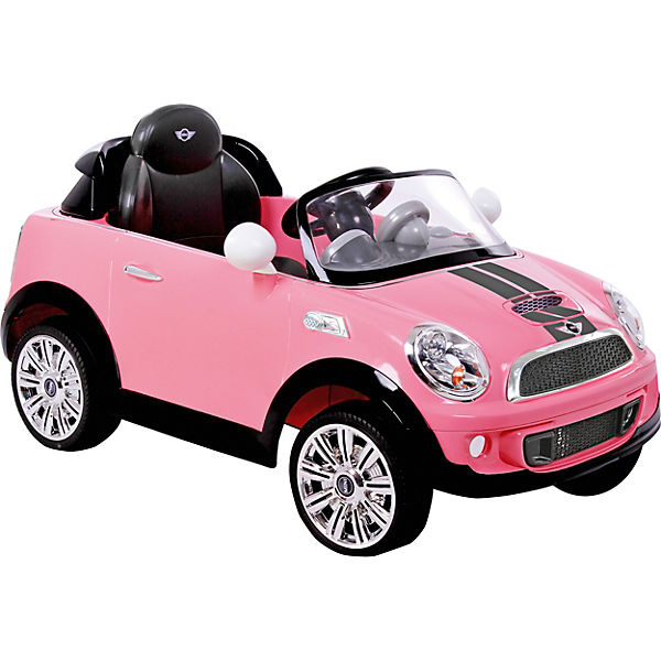 Mini Cooper S Roadster Mit Rc Pink Rollplay Mytoys