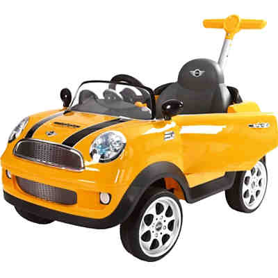 MINI Cooper Push Car, gelb