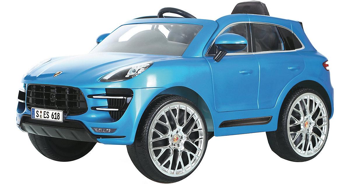 Porsche Macan Turbo 12V SUV, blau