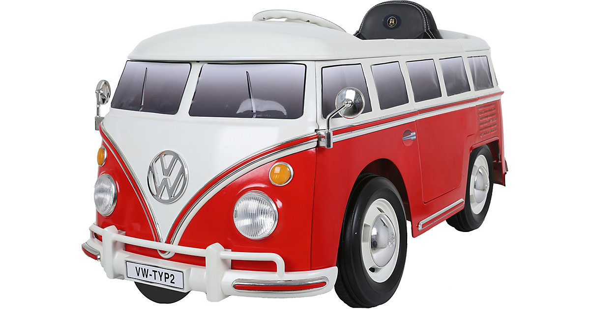 Rollplay · VW Bus Type 2 (T1) 12V, rot