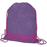 Мешок для обуви Seventeen, фиолетовый