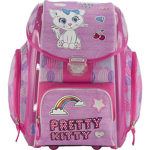 """Ранец-трансформер Seventeen """"Pretty Kitty"""" + наушники, без наполнения - розовый от Seventeen"""