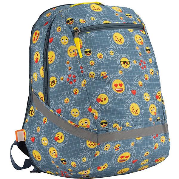 "Рюкзак Академия групп ""Emoji"", двухсторонний"