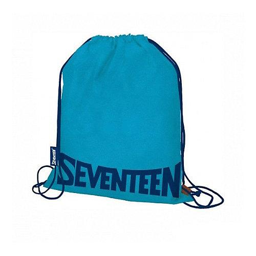 Мешок для обуви Seventeen, синий - голубой от Seventeen