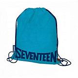 Мешок для обуви Seventeen, синий