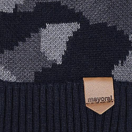 Комплект Mayoral: шапка и снуд - черный от Mayoral