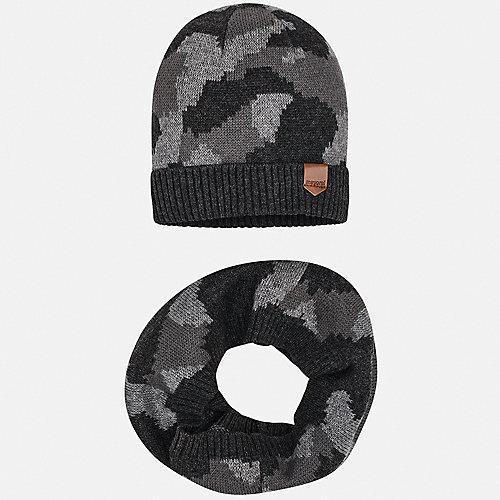 Комплект Mayoral: шапка и снуд - серый от Mayoral