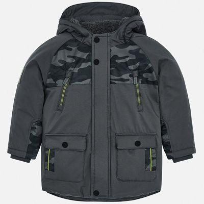 Утепленная куртка Mayoral - серый