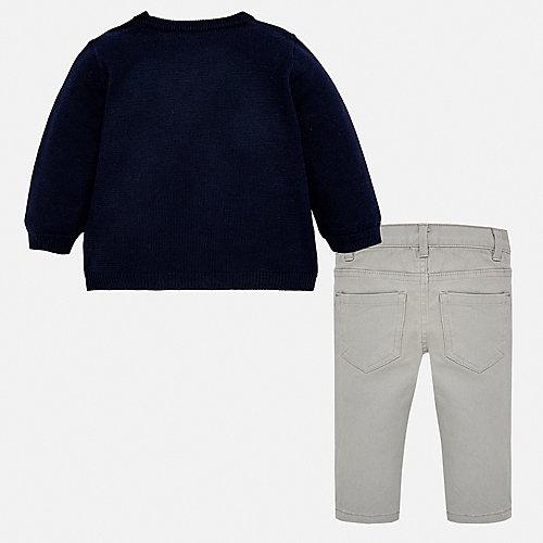 Комплект Mayoral: джемпер и брюки - синий от Mayoral