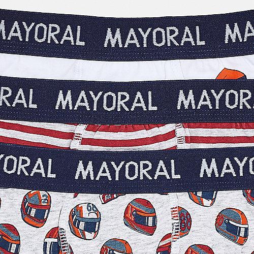Трусы Mayoral, 3 шт - бордовый от Mayoral