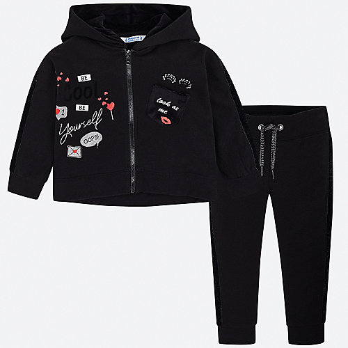 Спортивный костюм Mayoral - черный от Mayoral