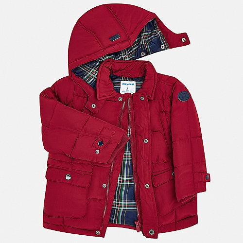 Утепленная куртка Mayoral - бордовый от Mayoral