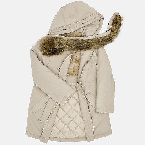 Утепленная куртка Mayoral - коричневый от Mayoral
