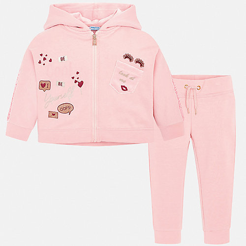 Спортивный костюм Mayoral - розовый от Mayoral
