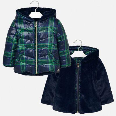 Утепленная куртка Mayoral - синий