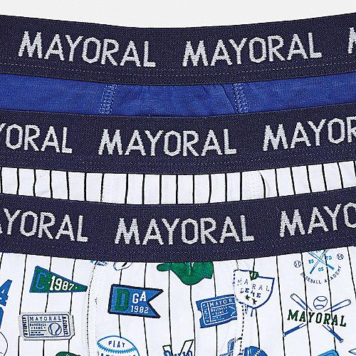 Трусы Mayoral, 3 шт - синий от Mayoral