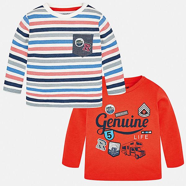 Комплект: футболка с длинным рукавом 2 шт. Mayoral для мальчика