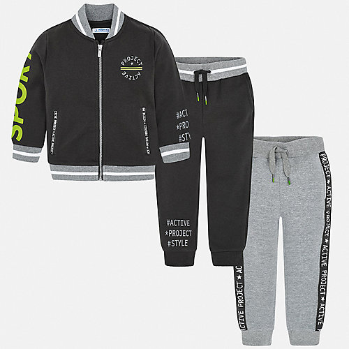 Спортивный костюм Mayoral - серый от Mayoral