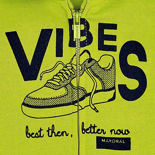 Комплект Mayoral: толстовка и спортивные брюки, 2 шт - зеленый от Mayoral