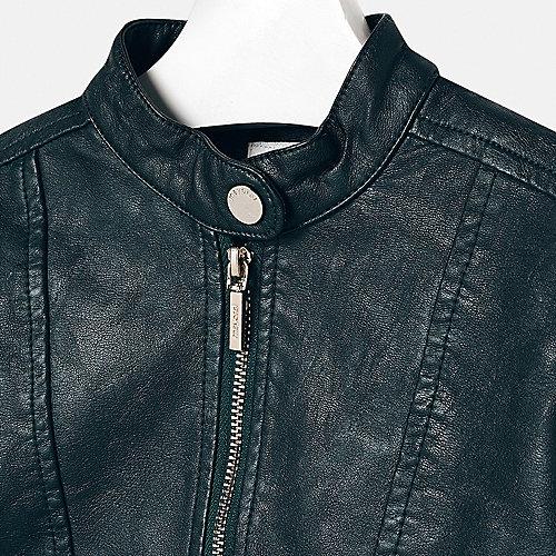 Кожаная куртка Mayoral - зеленый от Mayoral
