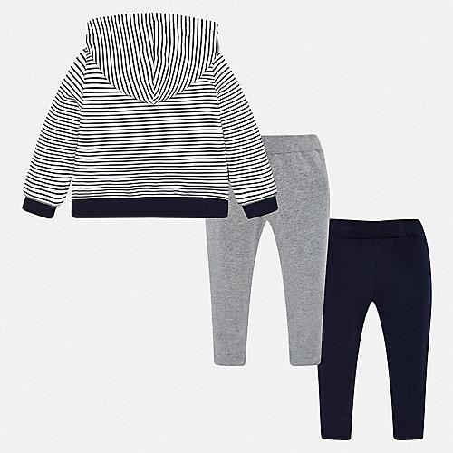 Комплект Mayoral: толстовка и спортивные брюкит - серый от Mayoral