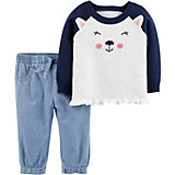 Комплект Carter's: джемпер и джинсы