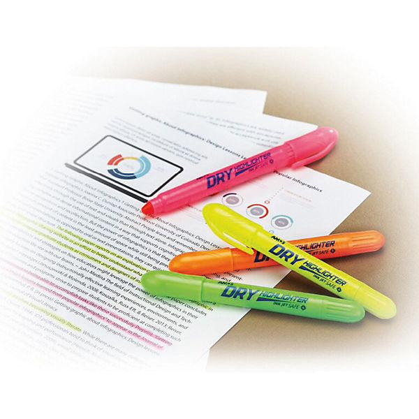 Набор маркеров-текстовыделителей Amos, 3 цвета