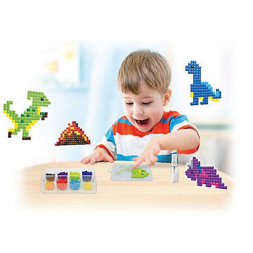 """Аква-мозаика из пикселей Amos """"Динозавры"""" от Amos"""