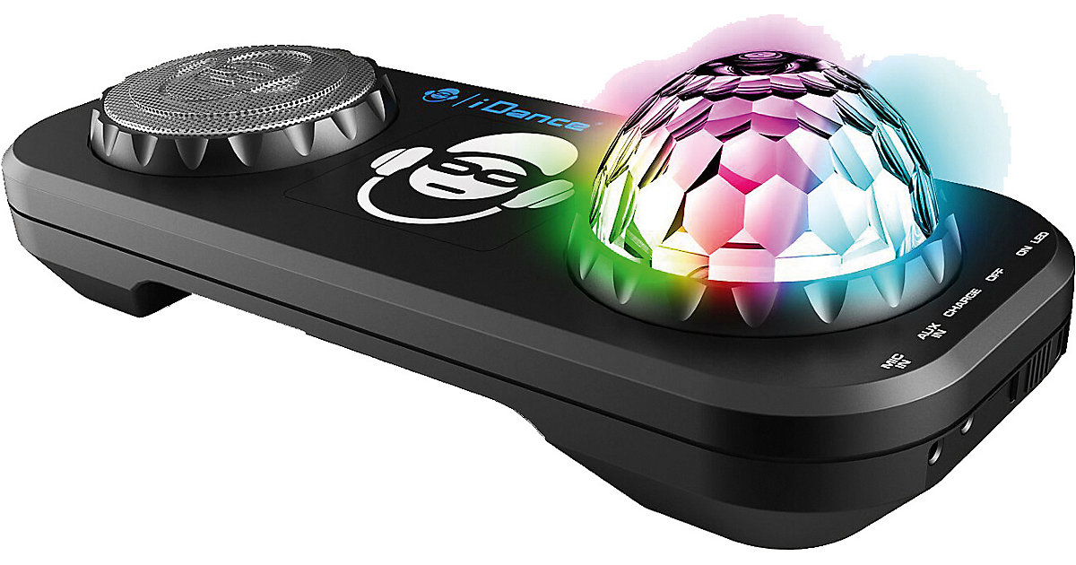 Partybox mit Mixer, Discokugel & Bluetooth XD2 schwarz