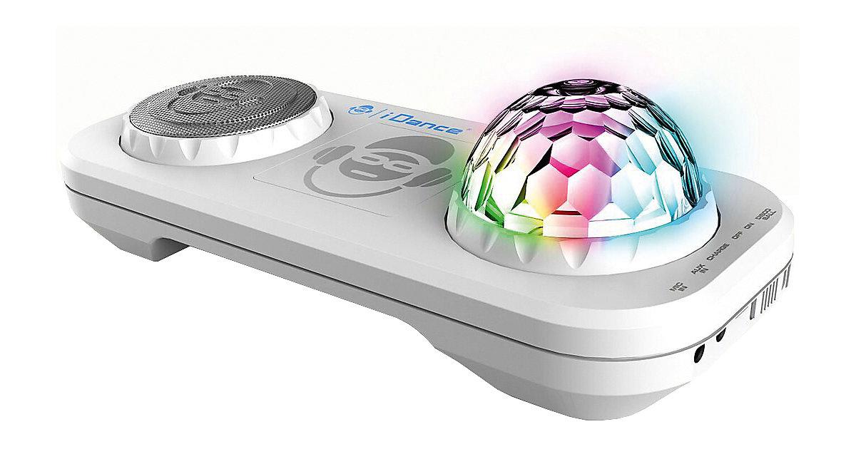 Partybox mit Mixer, Discokugel & Bluetooth XD2 weiß