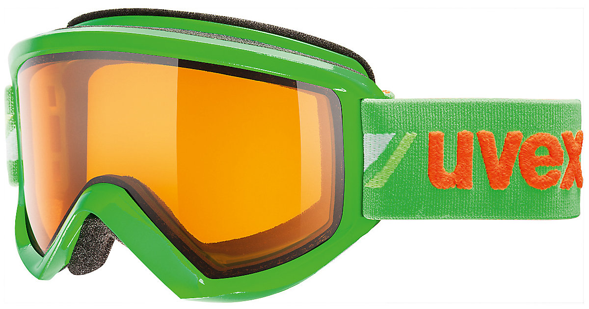 uvex Skibrille fire race green dl/lgl grün
