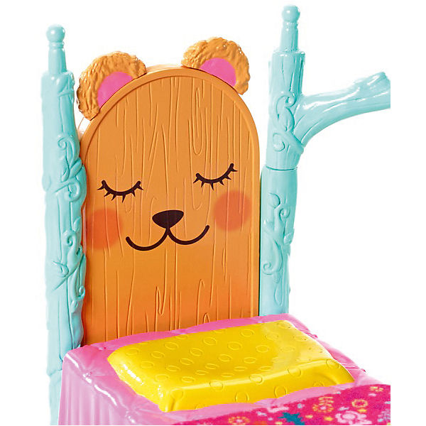 """Набор с куклой Enchantimals """"Сюжетные наборы"""" Брен Медведь"""