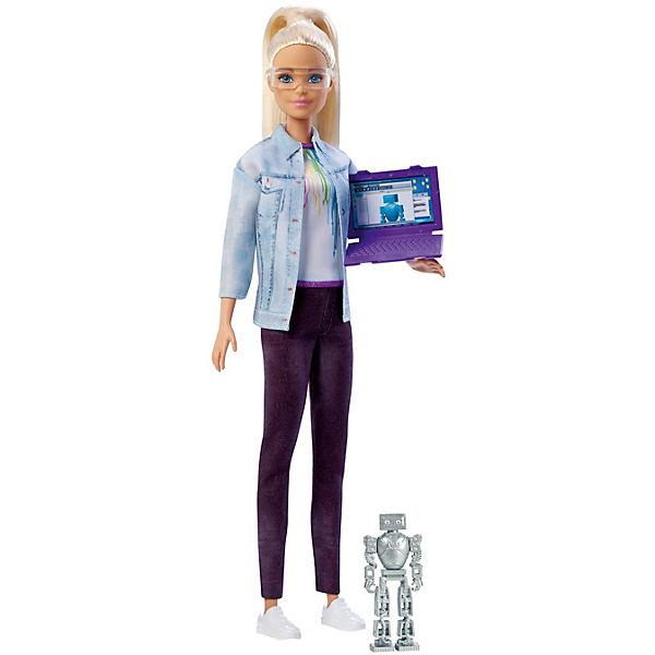 "Кукла Barbie ""Робототехник"" Барби со светлыми волосами"