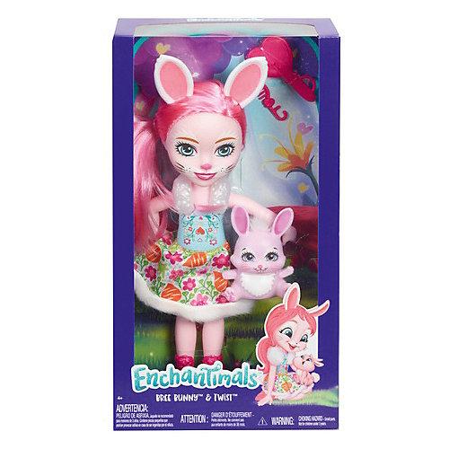 Большая кукла Enchantimals Бри Банни и Твист, 31 см от Mattel