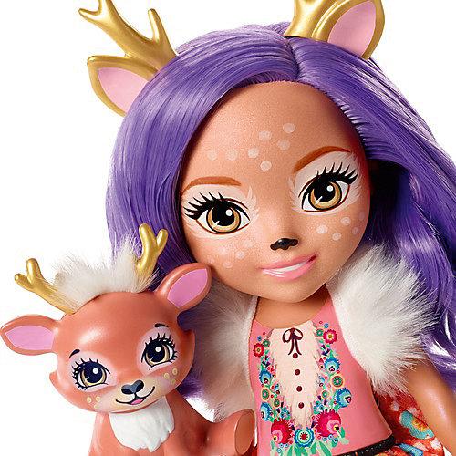 Большая кукла Enchantimals Данесса Оленни и Спринт, 31 см от Mattel