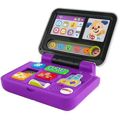"""Развивающая игрушка Fisher Price """"Смейся и учись"""" Ноутбук Ученого Щенка от Mattel"""