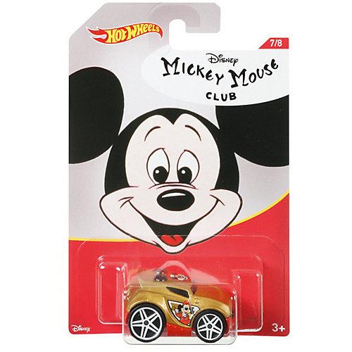 """Тематическая машинка Hot Wheels """"Disney"""" Клуб Микки Мауса от Mattel"""