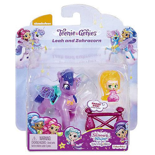 "Набор фигурок Fisher Price ""Shimmer & Shine"" Лия и Зумикорн от Mattel"