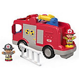 "Машинка с фигурками Fisher Price ""Little People"" Пожарная машина"