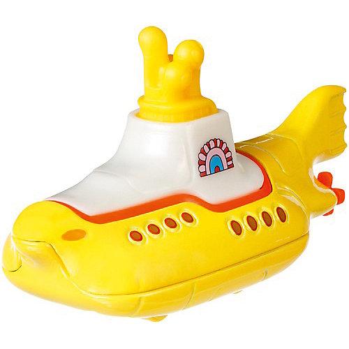 "Тематическая премиальная машинка Hot Wheels ""The Beatles"" Жёлтая субмарина от Mattel"