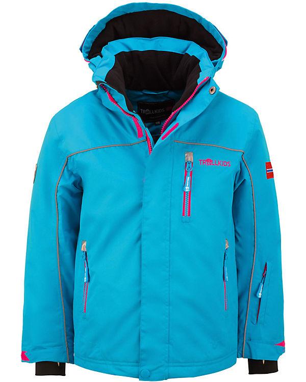 neueste trends attraktiver Preis tolle sorten Skijacke HOLMENKOLLEN für Mädchen, TROLLKIDS